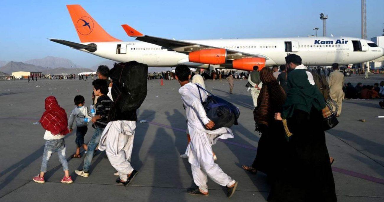 """Los talibanes y las autoridades qataríes están tratando de identificar """"riesgos y posibles fallos"""" en el aeropuerto."""