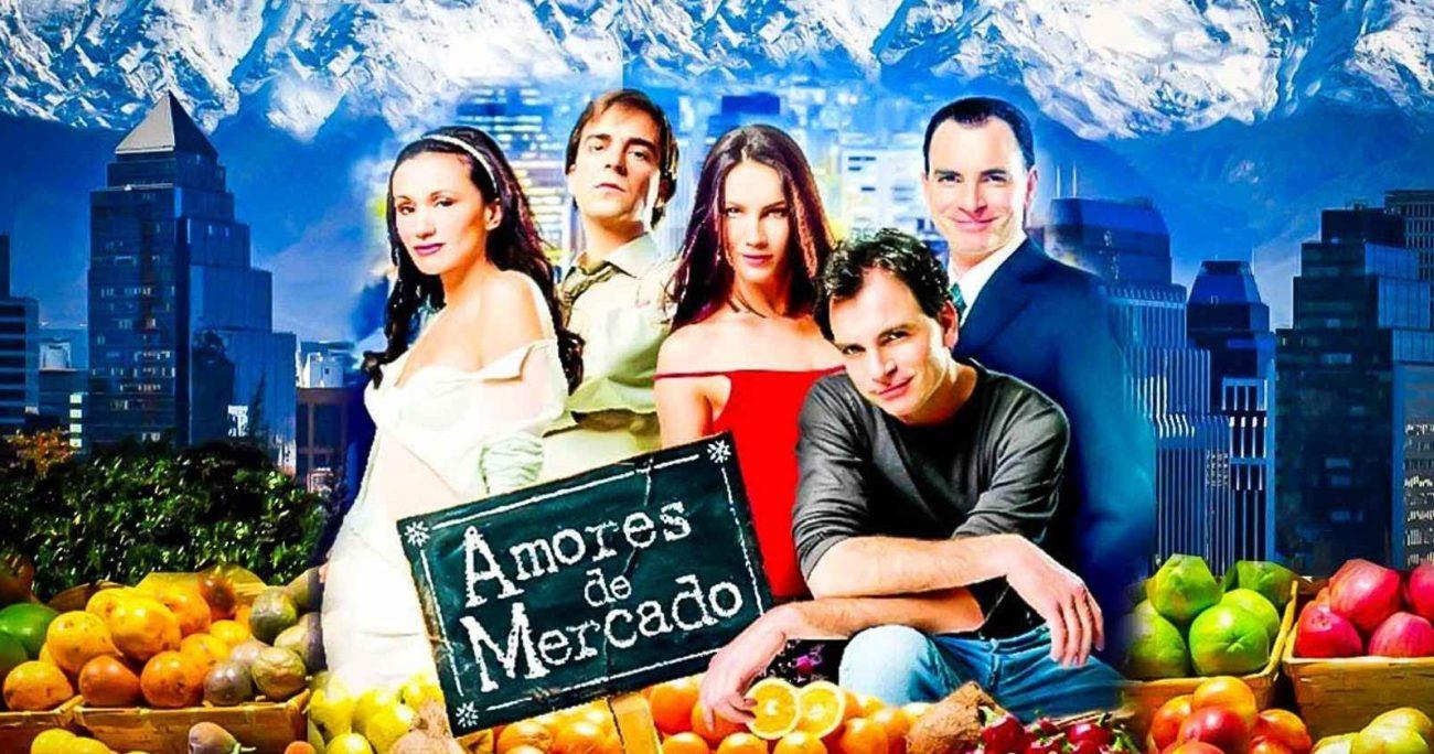 Amores de Mercado, emitida en 2001, es la teleserie más vista de la televisión chilena. TVN