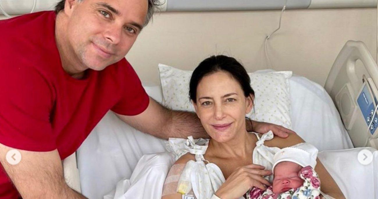 La ex deportista trasandina mostró las fotos de su hija en redes sociales. INSTAGRAM/AYMARLUCHA