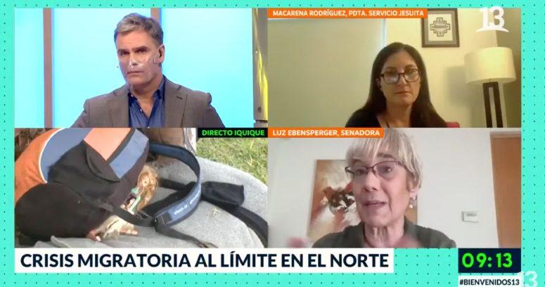 """""""Casi me dijo nazista"""": el tenso cruce de Amaro Gómez-Pablos y senadora Ebensperger"""