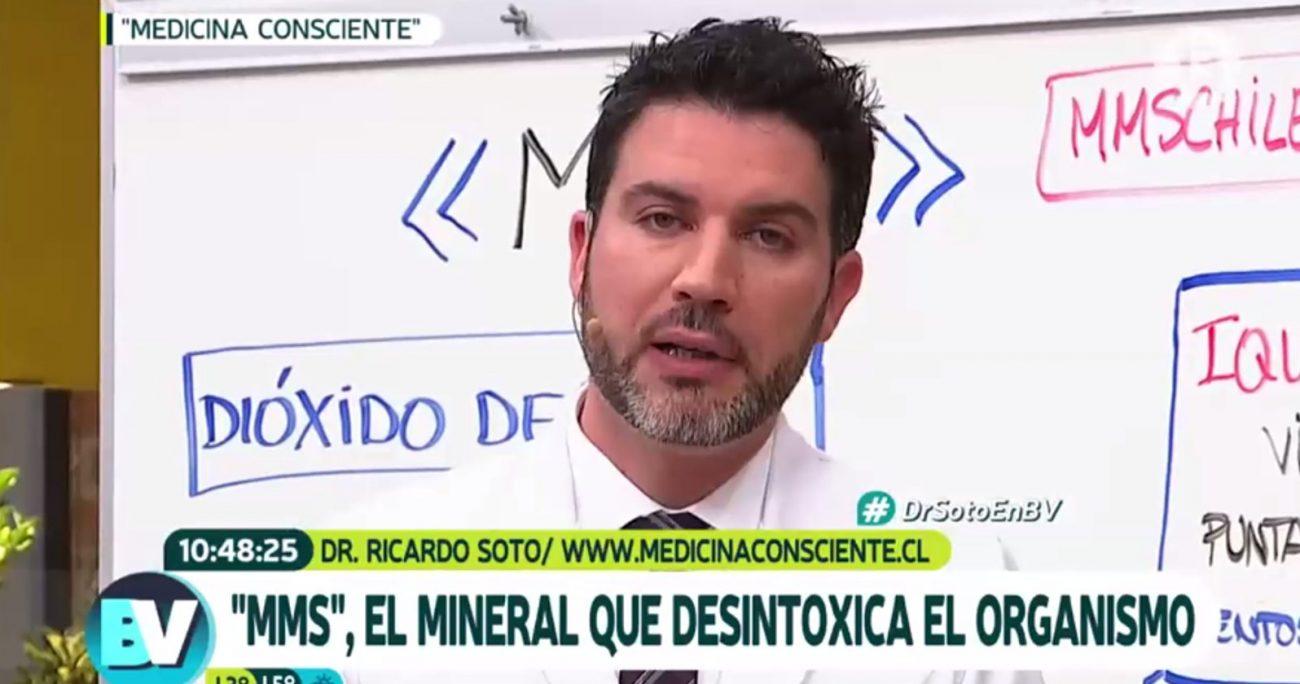 El hecho ocurrió el 22 de agosto de 2017 con la participación del doctor Ricardo Soto.