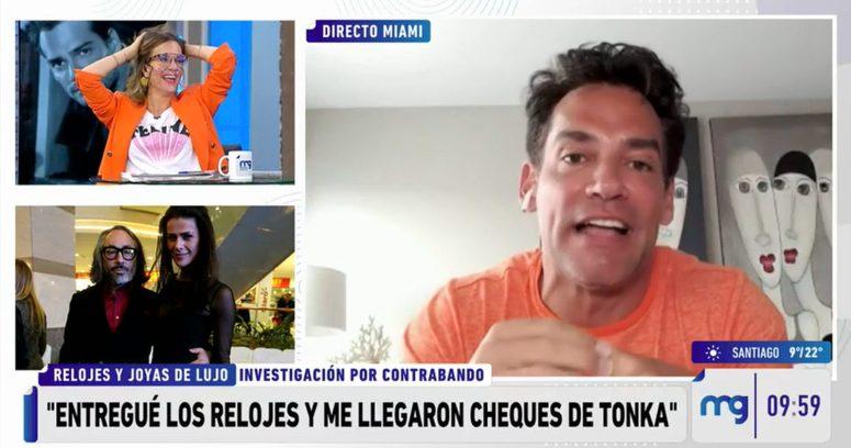 """Cristián de la Fuente entregó su versión sobre el caso Relojes: """"Me llegaron cheques de Tonka Tomicic"""""""