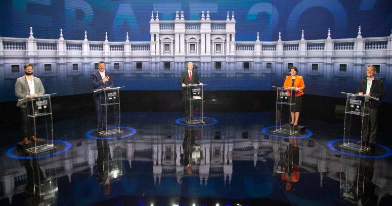 El rating que marcó el debate presidencial de Chilevisión y CNN Chile