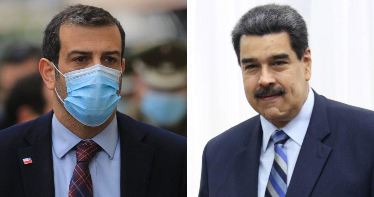 """Maduro acusó al Gobierno de Sebastián Piñera de """"perseguir"""" a sus compatriotas. AGENCIA UNO/ARCHIVO"""