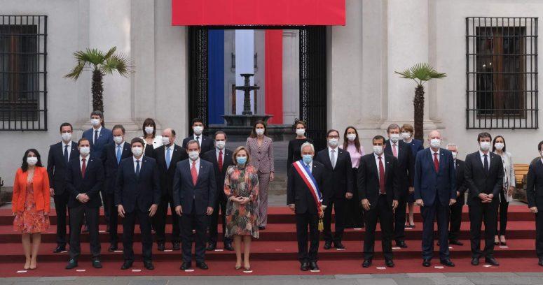 Presidente Piñera se tomó la última foto oficial de su gobierno en Fiestas Patrias