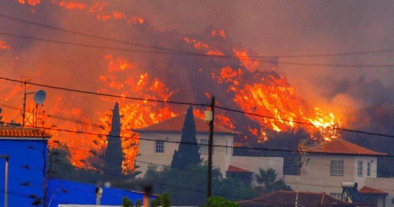VIDEOS – Así penetró la lava en las casas en la isla española de La Palma