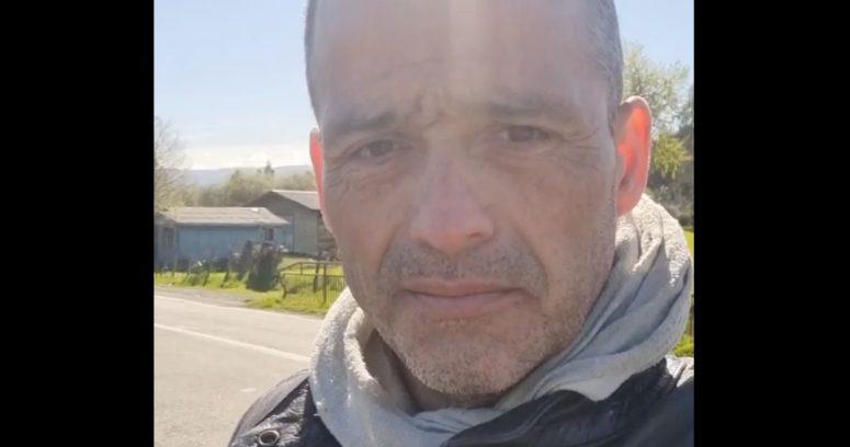 """VIDEO – """"Una sensación extraña"""": Iván Núñez regresó a Tirúa a seis meses de ataque"""