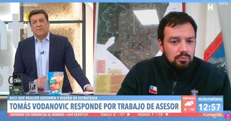 """""""El cruce entre Julio César Rodríguez y Tomás Vodanovic por millonario informe secreto en Maipú"""""""