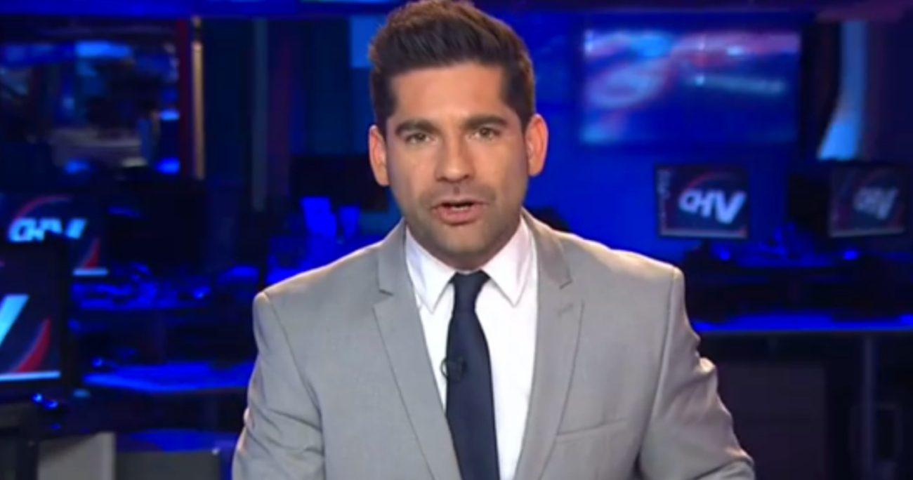 Hasta junio, Karim Butte era el conductor de CHV Noticias Tarde.