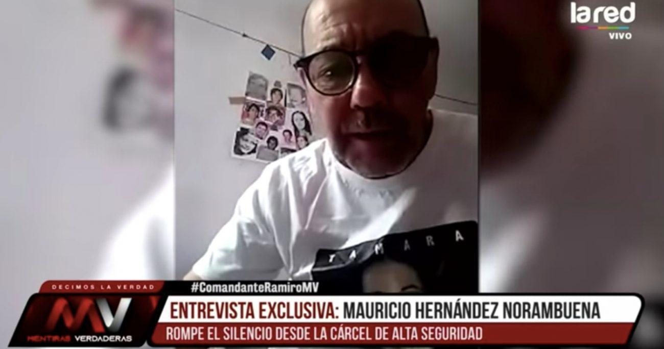 La entrevista a Hernández Norambuena fue emitida la noche del 15 de marzo.