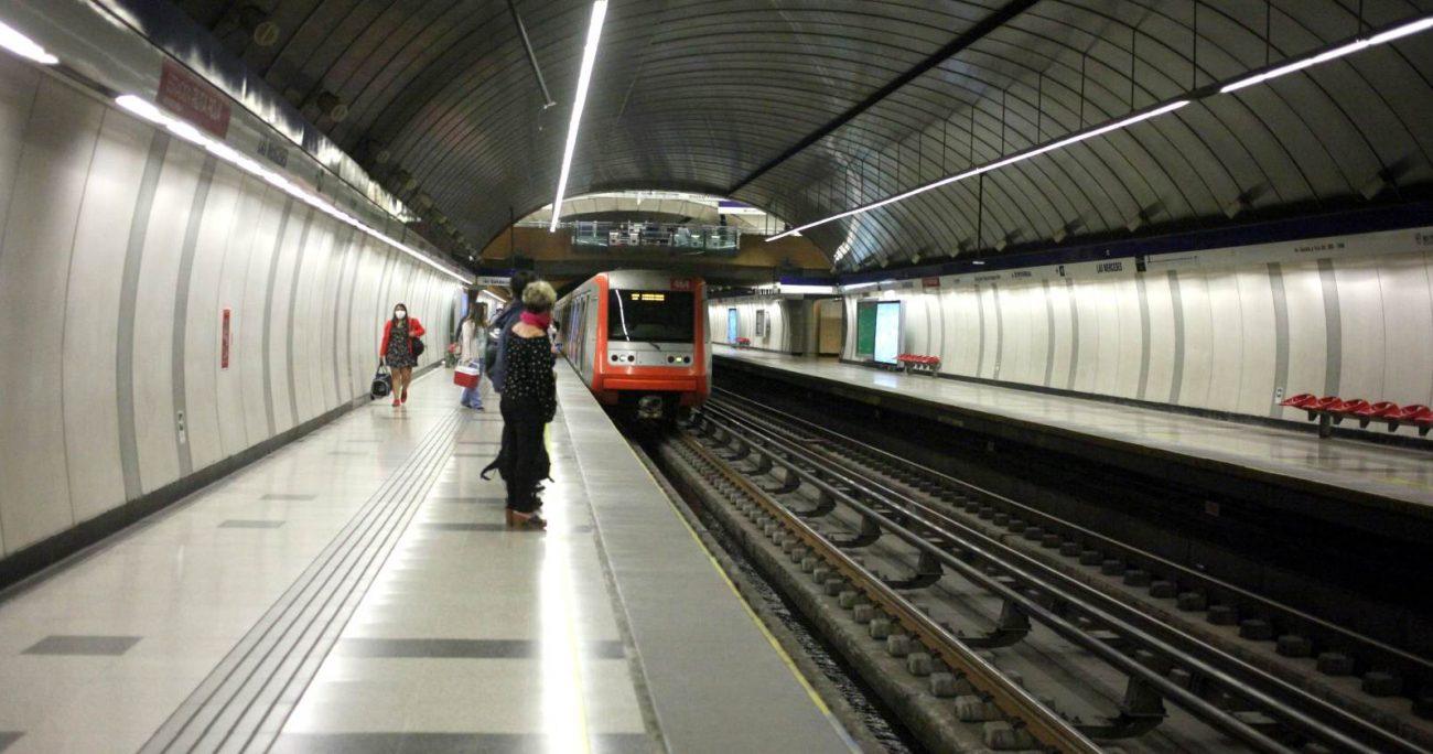 Toda la red de Metro se encuentra actualmente disponible. AGENCIA UNO/ARCHIVO.