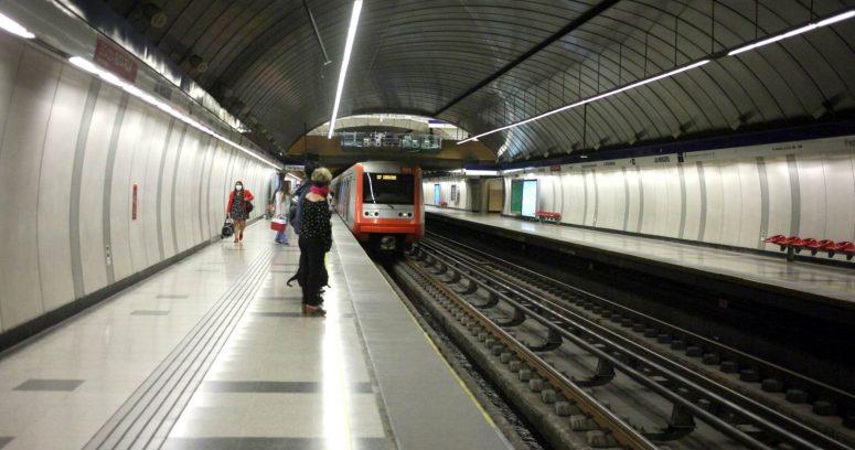 Metro de Santiago restableció servicio en Línea 3 tras falla eléctrica