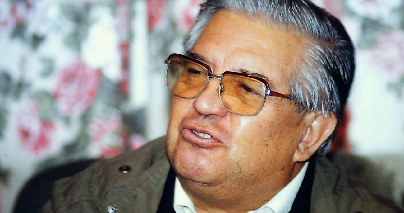 La entrevista se realizó en 2005 en su casa. AGENCIA UNO/ARCHIVO