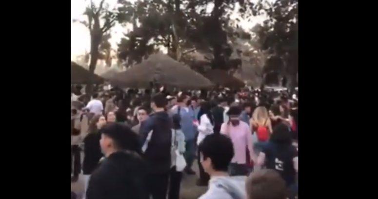 """""""Denuncian que persona con COVID-19 asistió a masiva fiesta en el Parque Padre Hurtado"""""""
