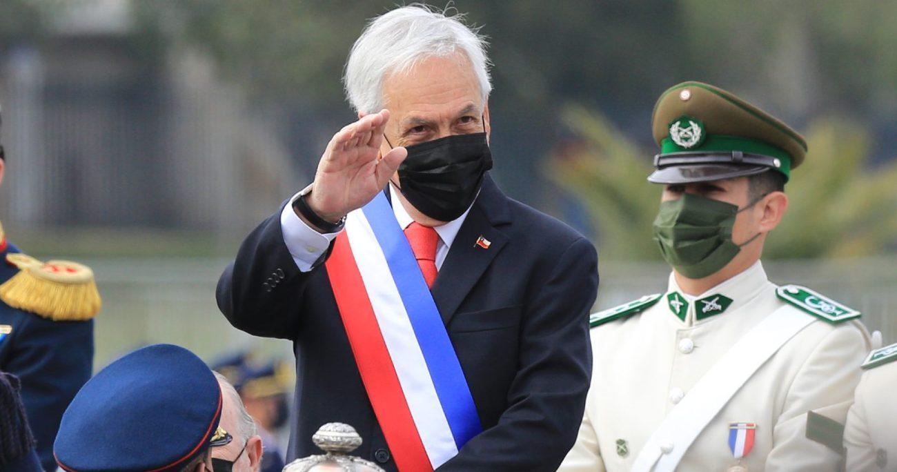 """Piñera destacó que """"ser Presidente es un gran honor, pero también una gran responsabilidad"""". AGENCIA UNO"""
