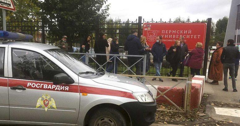 Al menos 6 muertos y varios heridos deja tiroteo en una universidad de Rusia