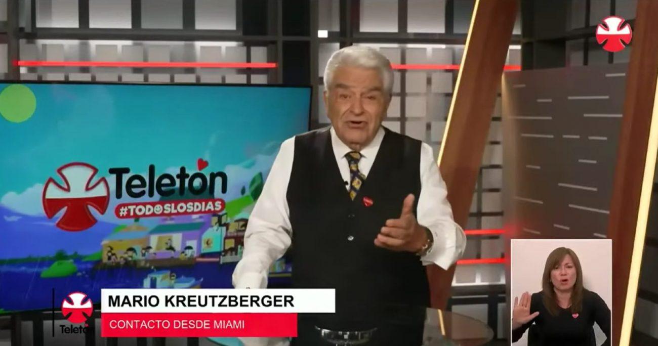 El lanzamiento de la Teletón 2021 contó con la participación vía telemática de Don Francisco, quien se encuentra en Miami.