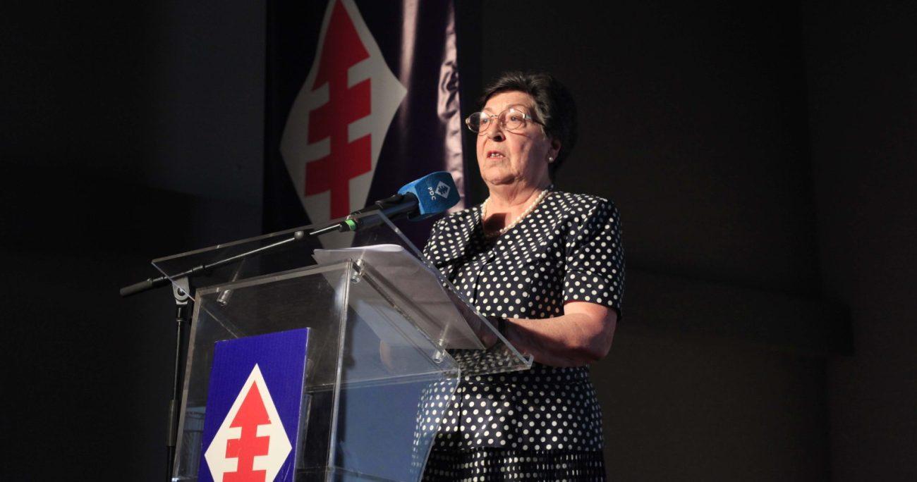 El comunicado contó con el respaldo de toda la directiva de la DC, dirigida por Carmen Frei. AGENCIA UNO/ARCHIVO