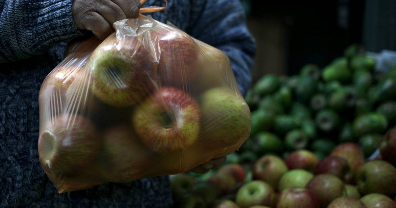 Se estima que el 37% de las frutas y verduras ahora se venden en envases. AGENCIA UNO/ARCHIVO