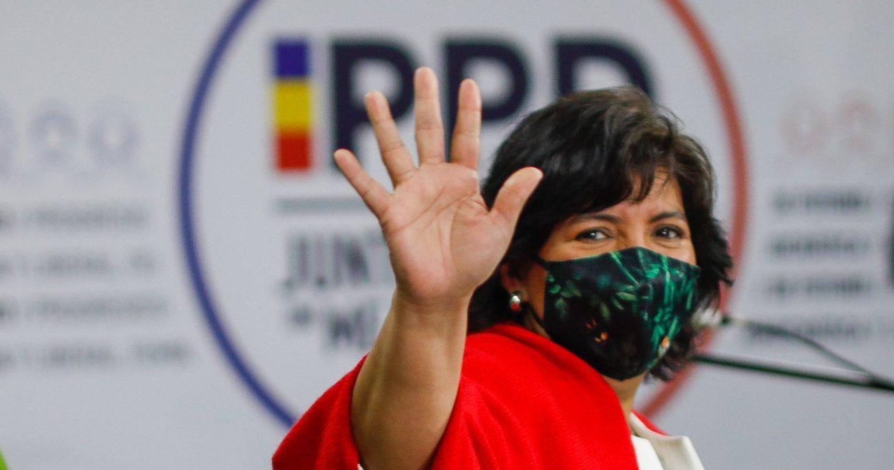 La senadora se transformó en la candidata del partido tras ganar la primaria convencional de la centroizquierda. AGENCIA UNO/ARCHIVO