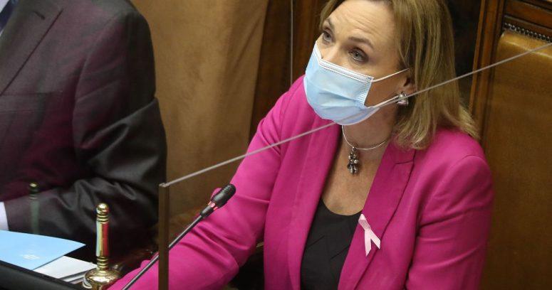"""Senadora Goic (DC) desafía a Provoste: """"Mi voto no está disponible para aprobar cuarto retiro"""""""