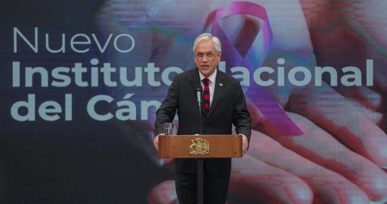 Piñera dio inicio al proceso para un nuevo Instituto Nacional del Cáncer