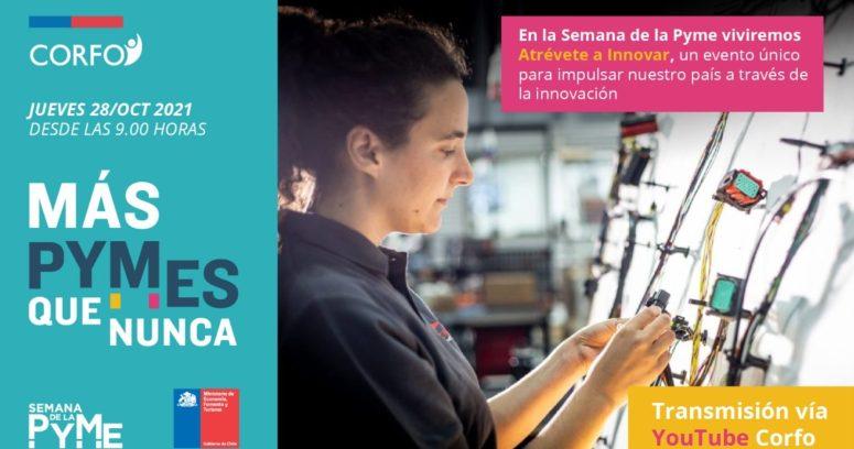 Corfo se suma a la Semana de la Pyme 2021 con foco en innovación y sostenibilidad