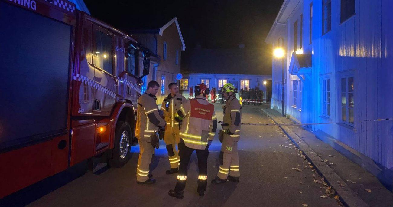 La agresión ocurrió en la localidad de Kongsberg.