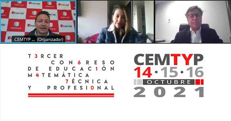 Inacap desarrolla tercer Congreso de Educación Matemática Técnica y Profesional