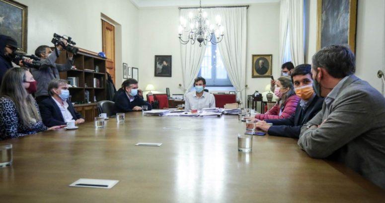 Piñera se reunió con diputados de Chile Vamos y confirmó cuarta dosis de vacuna contra el COVID-19