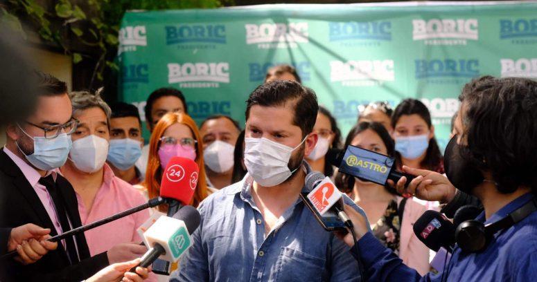 Boric: Bellolio es vocero de campaña y no asume la responsabilidad correspondiente