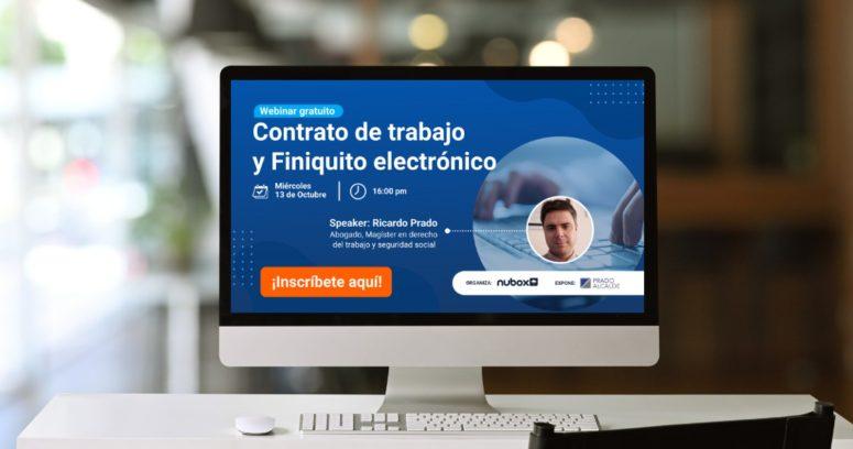 Webinar explicará a Pymes nueva normativa de contratos y finiquitos electrónicos