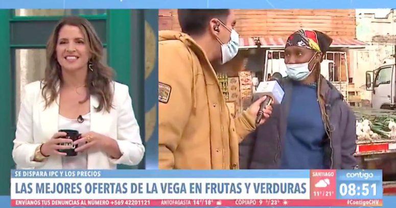 """VIDEO – """"¿Qué tiene el chilenito…?"""": la respuesta subida de tono de vendedora en Contigo en la Mañana"""