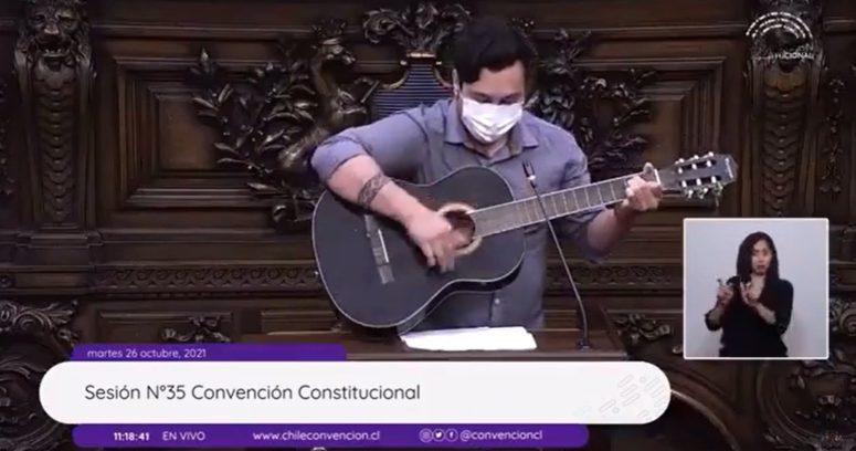 """VIDEO – """"Hay que ser torero"""": constituyente citó a Chayanne en su discurso de apertura"""