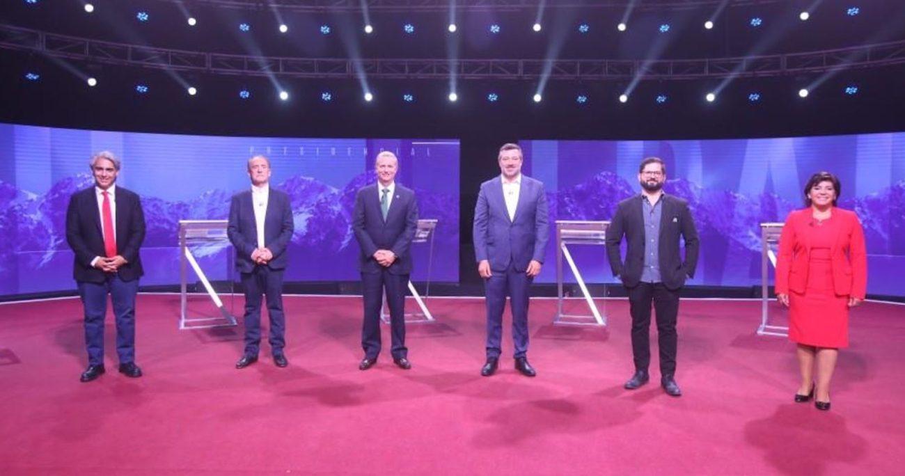 En el horario en que fue emitido el debate, Chilevisión logró 10 puntos. CEDIDA.