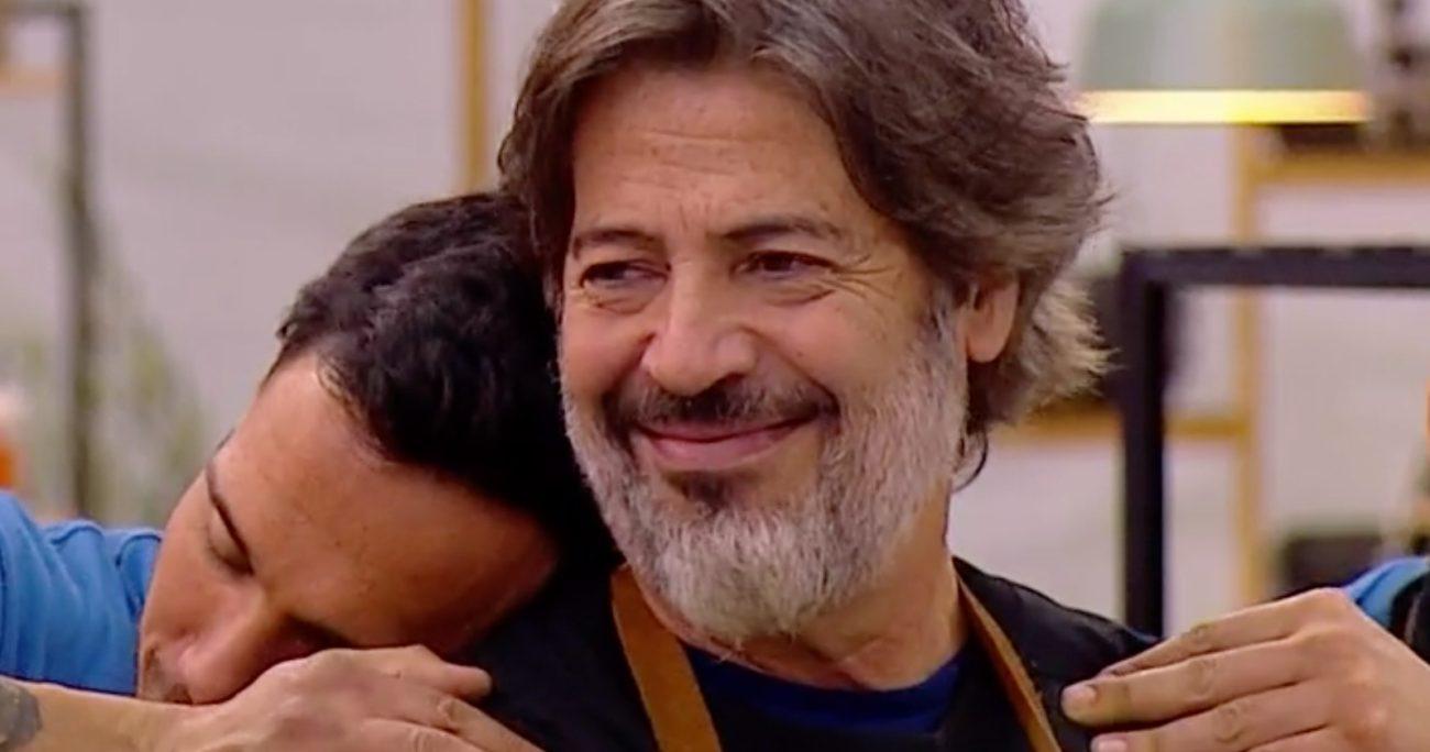 La salida de Miguelo emocionó a Carolina Bazán.