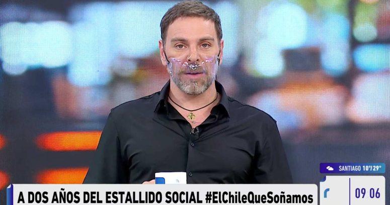 """""""La TV miente"""": José Antonio Neme responde a rayado en las afueras de Mega"""
