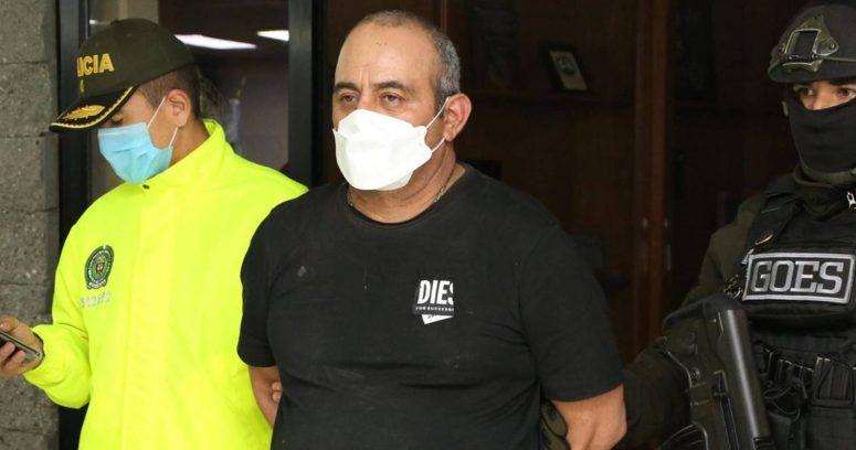 """Capturan a """"Otoniel"""", el narcotraficante más buscado de Colombia y socio del Chapo Guzmán"""