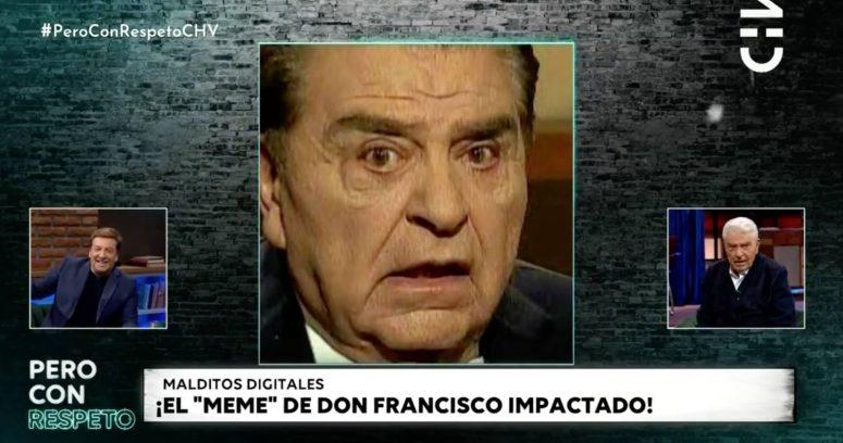 Don Francisco recreó famoso meme que se viralizó tras entrevista con Bachelet