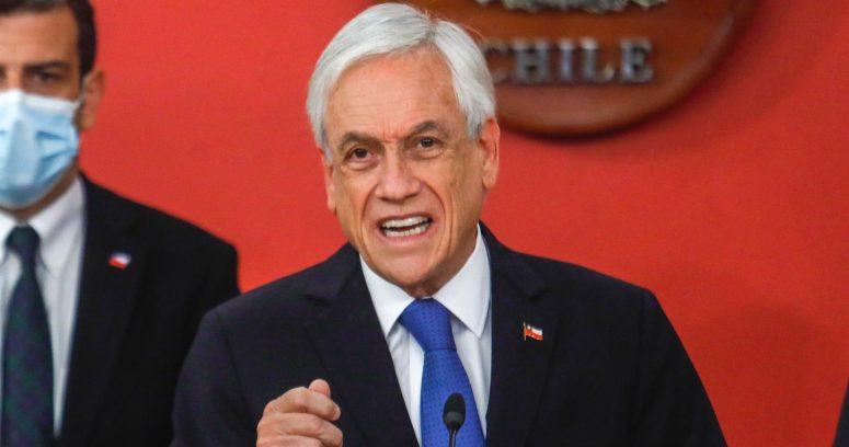 Presidente Piñera fue notificado de la acusación constitucional