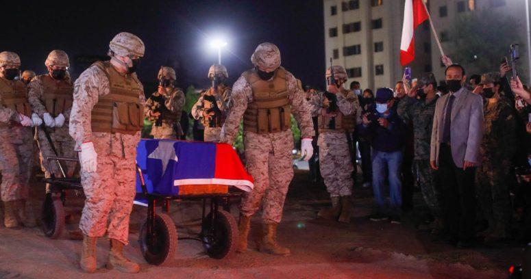 Ejército trasladó restos del Soldado Desconocido al Cementerio General
