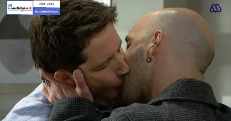 """""""El beso que confirmó romance homosexual en Verdades Ocultas"""""""